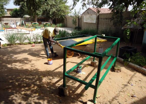 Support us: An internship for two young Gambians